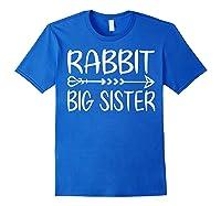 Cute Rabbit Big Sister Shirt I M Going To Be A Big Sister T Shirt Royal Blue