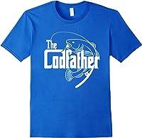 S Codfather Cod Fishing Fisherman Angler Novelty Humor Gifts T-shirt Royal Blue