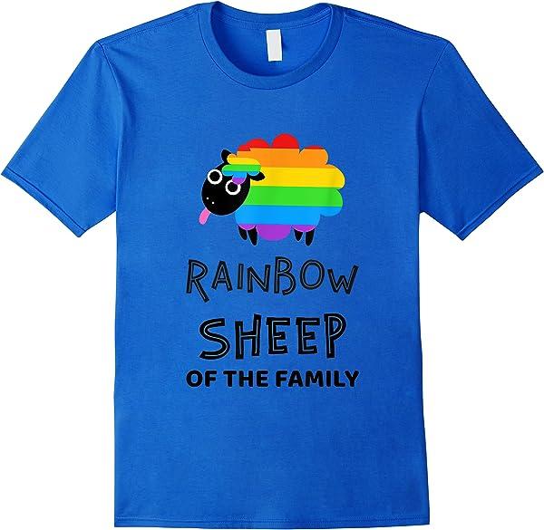 Rainbow Sheep Of The Family Lgbt+ Pride Gay Shirts