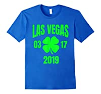 St Patricks Day Las Vegas T Shirt 2019 Saint Pattys Shirt Royal Blue
