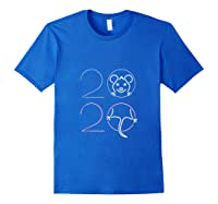 2020 Year Of The Rat Chinese Zodiac Lunar Happy New Year Shirts Royal Blue