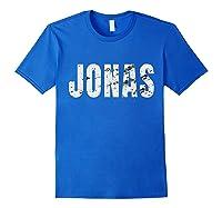 Jonas First Given Name Pride Funny Shirts Royal Blue