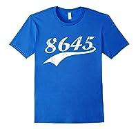 8645 T Shirt Anti Trump Impeach Ts Royal Blue
