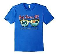 Gulf Shores Beach Alabama Paradise Lost Shirts Royal Blue
