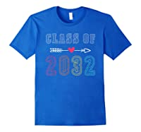 Class Of 2032 Pre K Graduate Preschool Graduation Gift Shirts Royal Blue