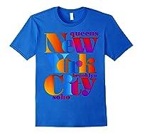 New York City T Shirt Urban Nyc Fashion Style T Shirt Nyc T Shirt Royal Blue