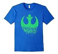 Star Wars Saint Patrick S Day Rebel Alliance Premium Ts Shirts Royal Blue