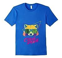 Cool Bear Fun Party Costume Cute Easy Animal Halloween Gift Shirts Royal Blue