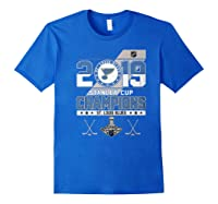 Stanley St Louis Cup Blues Champions 2019 Best For Fans Shirts Royal Blue