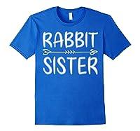 Cute Rabbit Sister Shirt I M Going To Be A Sister T Shirt Royal Blue
