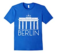 Berlin Shirt For Girls Royal Blue