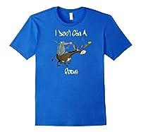Don't Give A Rats Ass Mouse Riding Donkey Focus Baseball Shirts Royal Blue