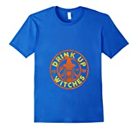 Witch Shirts For Halloween Drink Up Witches Tank Top Royal Blue