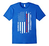 Best Grandma Ever T Shirt American Flag Mothers Day Gift Mom Royal Blue