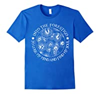 Gardens T Shirt Losing My Minds And Finding My Souls T Shirt Royal Blue