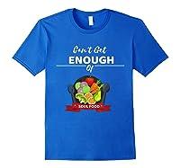 Can T Get Enough Of Soul Food Vegan Vegetarian T Shirt Royal Blue