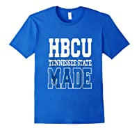 Tennessee Hbcu State University T Shirt Royal Blue