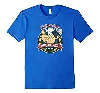 Champion Of Breakfast T Shirt Breakfast Of Champions Royal Blue