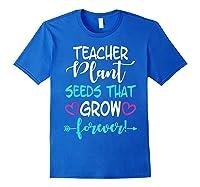 Teas Inspirational Quote School Teas Mm Shirts Royal Blue