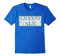 8645 T Shirt Impeach Trump Shirt Anti Trump Gift Idea Royal Blue