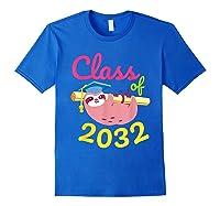 Kindergarten First Day Back To School Girl Shirts Royal Blue