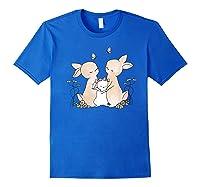 Family Rabbit Baby Bunny Sweet Family Shirt T Shirt Royal Blue