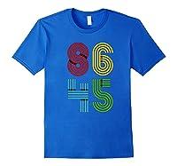 Impeach Trump T Shirt Not My President 86 45 Anti Donald Royal Blue