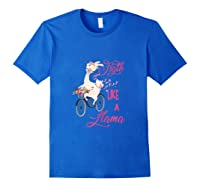 Floral Breast Cancer Awareness Month Figth Tank Top Shirts Royal Blue
