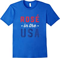 Rose In The Usa Cute 4th Of July T-shirt Royal Blue