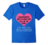 Grandparents Are The Heart And Soul Of The Family Tshirt Tank Top Royal Blue