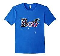 Halloween Boo Breast Cancer Awareness Month Tank Top Shirts Royal Blue