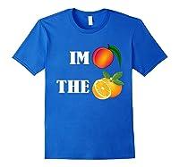 Impeach The Orange Not This President Anti 45th T Shirt Royal Blue