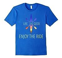 Kayak Fishing Accessories T Shirt Royal Blue