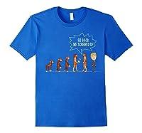 Funny Anti Trump Shirt Go Back We Screwed Up Election Tshirt Royal Blue