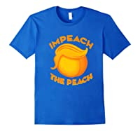 Impeach Halloween Premium T Shirt For Girls And Adults Royal Blue