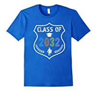 2019 Class Of 2032 Grow With Graduation First Day Of School Shirts Royal Blue