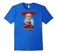 Walter Airway Heights Wa Raglan Baseball Ts Shirts Royal Blue