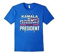 Kamala Harris For President 2020 Patriotic Election Gift Shirts Royal Blue
