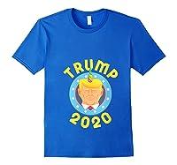 Funny Unicrontrump 2020 Election Usa Flag Republican Gift T Shirt Royal Blue