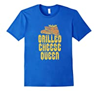 Gift For The Queen Grilled Cheese Maker Of The House Premium T Shirt Royal Blue