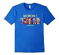 Funny Anti Trump Shirt Hate Donald Tshirt Impeach Royal Blue