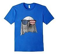 Election Day 2018 Patriotic Eagle T Shirt Royal Blue