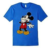 Disney Mickey Mouse Giggle T Shirt Royal Blue