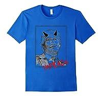 Political Impeach Anti Trump Unisex T Shirt Royal Blue
