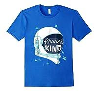 Choose Kindness T-shirt Royal Blue