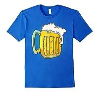 I Like Beer Shirt Professional Drinker Shirt Craft Beer Tee Royal Blue