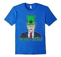 Bernie Sanders 2020 T Shirt St Patricks Day Irish Leprechaun Royal Blue
