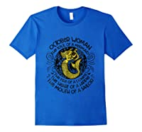 October Woman The Soul Of A Mermaid T Shirt Gift For Royal Blue