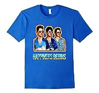 Happiness Begins Tour Music T Shirt Cool Jonas Shirt T Shirt Royal Blue