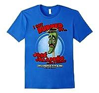 Jose Jalapeno Traverse City Mi T Shirt Royal Blue